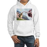 Creation / German Shepherd #2 Hooded Sweatshirt