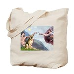 Creation / German Shepherd #2 Tote Bag