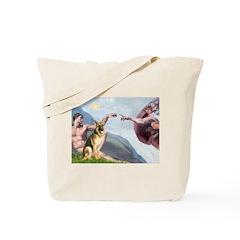 Creation / German Shepherd #2 Tote Bag