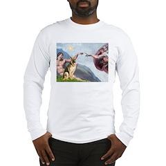 Creation / German Shepherd #2 Long Sleeve T-Shirt