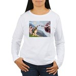Creation / German Shepherd #2 Women's Long Sleeve
