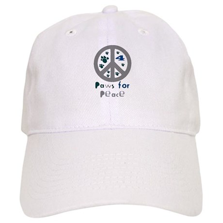 Paws for Peace Grey Cap