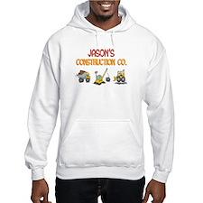 Jason's Construction Tractors Hoodie