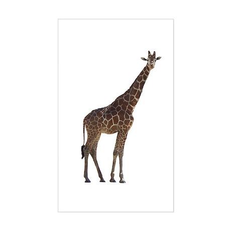 giraffe13 Rectangle Sticker