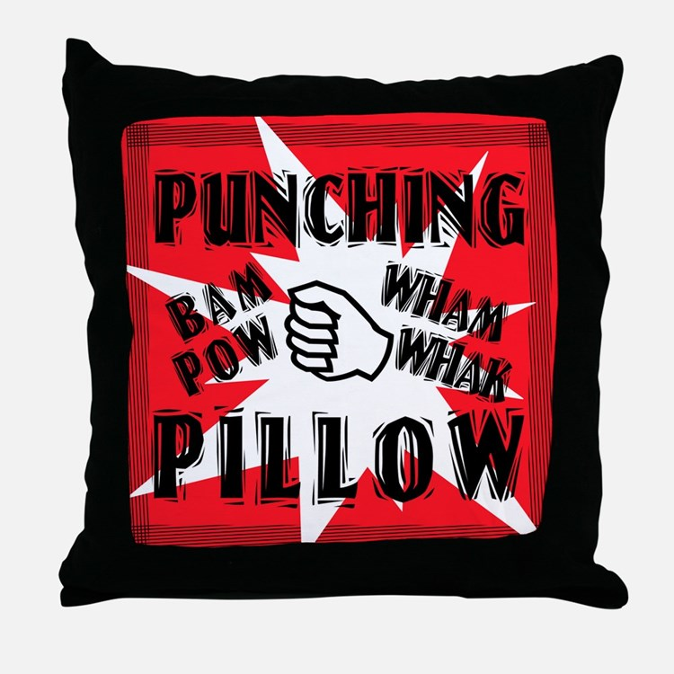 PUNCHING PILLOW Throw Pillow