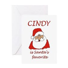 Cindy christmas Greeting Card