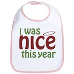I Was Nice This Year Bib