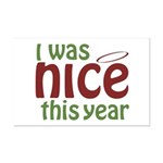 I Was Nice This Year Mini Poster Print