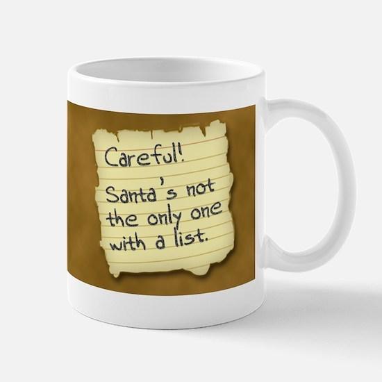 Santa's List Mug