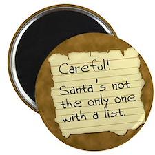 Santa's List Magnet