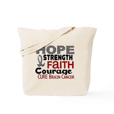 HOPE Brain Cancer 3 Tote Bag