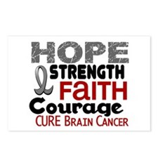 HOPE Brain Cancer 3 Postcards (Package of 8)