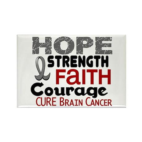 HOPE Brain Cancer 3 Rectangle Magnet (10 pack)