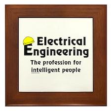 Smart Electrical Engineer Framed Tile