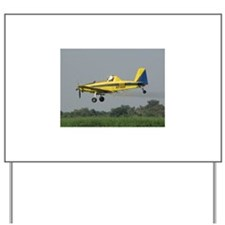 Ag Aviation Yard Sign