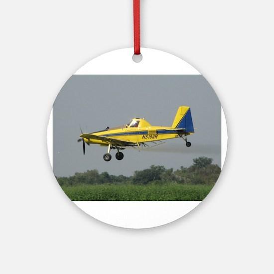 Ag Aviation Ornament (Round)