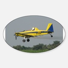 Ag Aviation Oval Decal