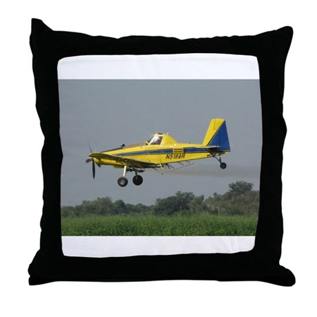 Ag Aviation Throw Pillow