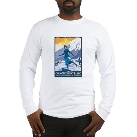 Chamonix France Long Sleeve T-Shirt