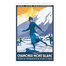 Chamonix France Postcards (Package of 8)