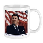 Reagan on the Ten Commandments Mug