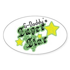 G-Daddy's Super Star Oval Decal