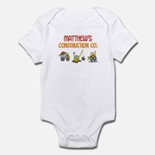 Matthew's Construction Tracto Infant Bodysuit
