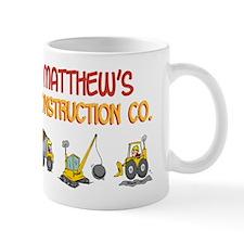 Matthew's Construction Tracto Mug