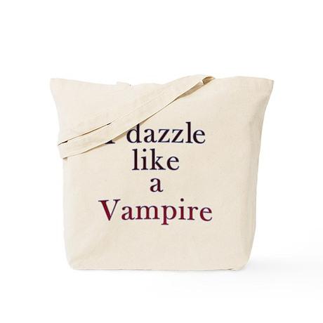 I kiss like a Vampire Tote Bag