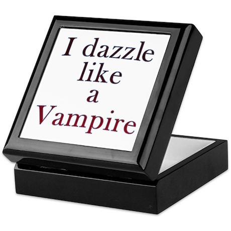 I kiss like a Vampire Keepsake Box