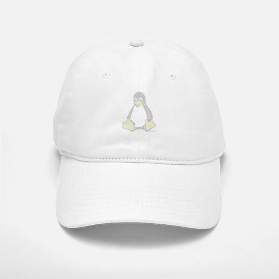 Ascii Tux Baseball Baseball Cap