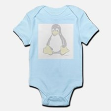 Ascii Tux Infant Creeper
