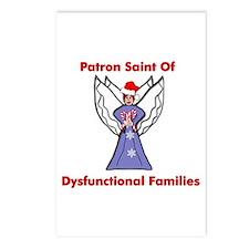 Patron Saint Dysfunctional Families Postcards (Pac