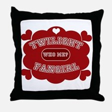 Twilight Fangirl Throw Pillow