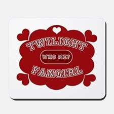 Twilight Fangirl Mousepad