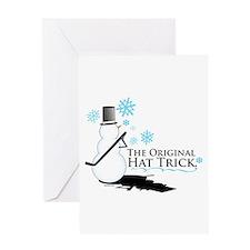 original hat trick Greeting Card
