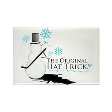 original hat trick Rectangle Magnet