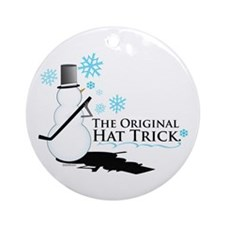 original hat trick Ornament (Round)