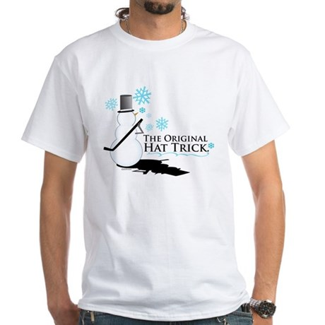 original hat trick White T-Shirt