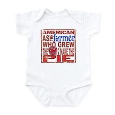 American Farmer Infant Bodysuit