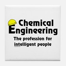 Smart Chemical Engineer Tile Coaster