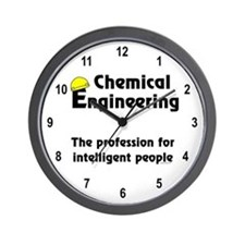 Smart Chemical Engineer Wall Clock