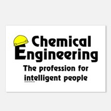 Smart Chemical Engineer Postcards (Package of 8)