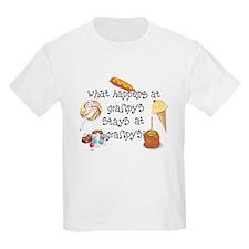 What Happens at Grampy's T-Shirt