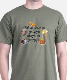 What Happens at Grampy's T-Shirt