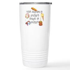 What Happens at Grampy's Travel Mug