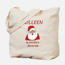 Colleen christmas Tote Bag