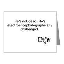Electroencephalographically c Note Cards (Pk of 10