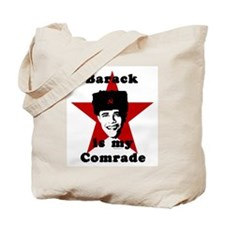 Barack is my Comrade Tote Bag