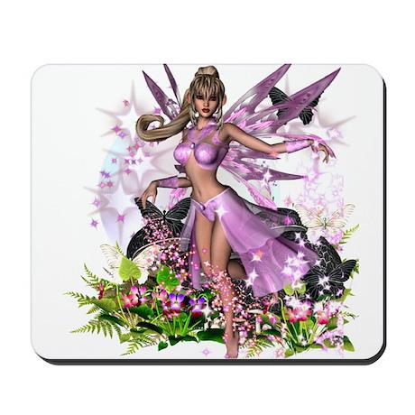 Pink Fairy Mousepad